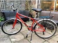 "Two Trek Navigator 100 bikes in red. 17"" frames and 26"" wheels. £70 each. £70 each."