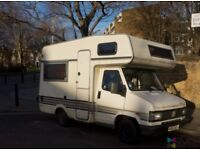 Compact Fiat Burstner Motorhome - Left Hand Drive and LEZ Compliant! Perfect for Europe
