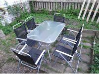 6 Seater Garden Patio Set