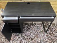 Ikea Brown/Black desk