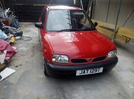 NIssan Micra 998cc Low on TAX and Insurance!
