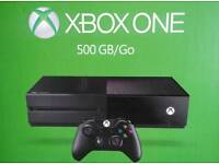 Xbox one with box. To swap