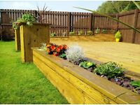 Fencing, decking & Landscaping - Wood Tech - Garden design, Patio & Driveways, Turfing