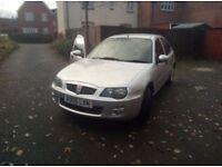 Low millage Fresh MOT ROVER 25 2005 1.4 Cheap insurance alloy wheels new tyres and battery