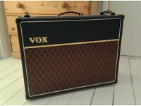 VOX AC30 CC2X BOXED IN IMMACULATE CONDITION (INCLUDES NEW TUBES, FOOT PEDAL AND ALL DOCUMENTATION)