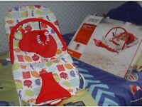 Mamas and Papas vibrate and sound bouncer. 0 to6 months