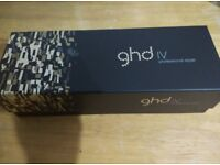 GHD IV ceramic styler - Brand New- with 2yrs warranty