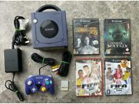 Nintendo GameCube console and games