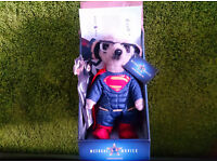 Sergei Superman Limited Edition Baby Toy Meerkat Teddy Bear Collectible Cinema TV Compare The Market