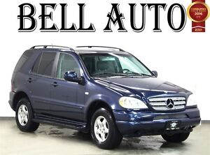 2000 Mercedes-Benz M-Class ML320//ALL SERVICE UP TO DATE /CLEAN
