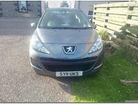 2011 Peugeot 207, 1.4 Diesel, £20 Tax,