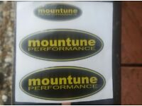 FORD FOCUS RS - ST - MK2 AND MK3 PRE-FACELIFT MOUNTUNE GEL BADGE OVERLAY WILL NOT FIT NON ST MODELS