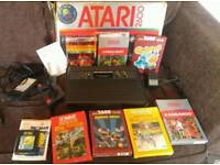 Atari 2600 Vader console plus controllers and games