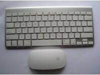 Apple mac keyboard and mouse - Model 2012 - As new