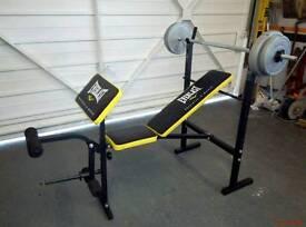 Everlast weightlifting bench