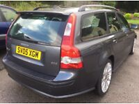 2005 VOLVO V50 2.0D SPORT+FULL VOSA HISTORY+105,000 MILES+HEATED SEATS+CRUISE CONTROL+HPI CLEAR