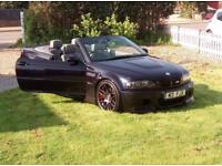 FOR SALE BMW e46 M3 CONVIRTABLE NO SWAPS