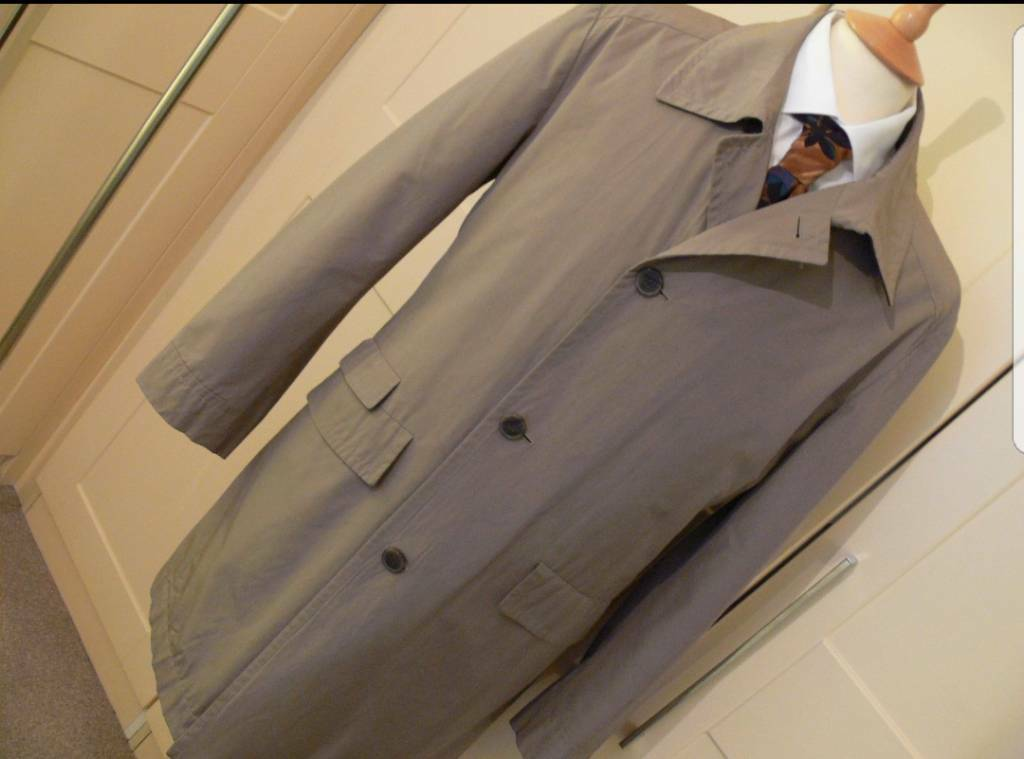 Hugo Boss mac/coat 38R/48R