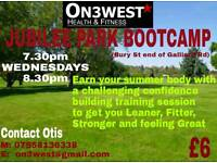 On3West Health & Fitness Presents 'Jubilee Park Bootcamp'