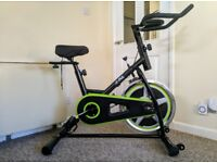 JLL Indoor Cycling Exercise Bike. Direct Chain Driven.
