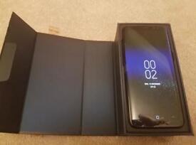 Samsung galaxy s8 64gb UNLOCKED midnight black under WARRANTY