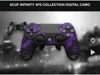 SCUF PS4 INFINITY DIGITAL CAMO CONTROLLER