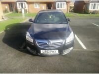 Vauxhall insignia 61plat with sat nav
