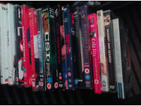 OVER 110 DVD'S BOX SETS INCLUDED MAINLY TV SOME EXERCISE COMEDY AND MUSIC AND PC TOO MANY TO LIST