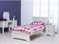 Deauville Single Wooden Bed