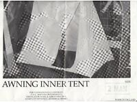 Caravan Awning Inner Tent