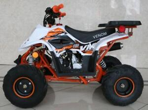 FREE SHIPPING NEW Venom Mini Madix 110cc ATV Quad VTT - Colored Frame + Reverse + 6-Months Warranty + Remote Kill Switch