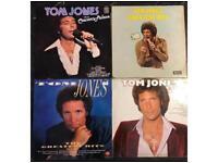 4 x tom jones vinyl albums