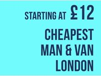 Mans and van removals service