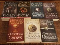 Complete Game of Thrones Book Set - VGC