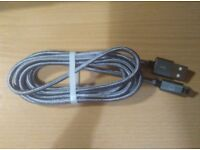 micro USB cables * brand new x 3