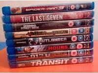 8 Action/Thriller Blu Rays