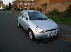 Ford Ka 1.3L, Green, 12 months MOT, cheap insurance
