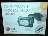 Scs 320 Mobile Phone Car Cradle-suits LG-P500 phone