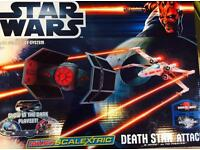Micro Scalextric G1084 Star Wars Death Star Attack 1:64 Scale Race Attack