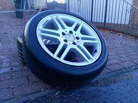 Mercedes Alloy Wheels 112x5