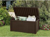 *New* Keter Garden Borneo Storage Large Box Bench