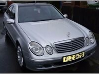 Mercedes E320 CDI Elegance Silver