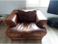 Leather Chair Large