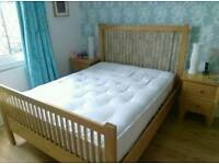 King-size Solid Beech wood bed frame