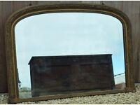 Vintage/Antique Overmantle Mirror Price Reduced