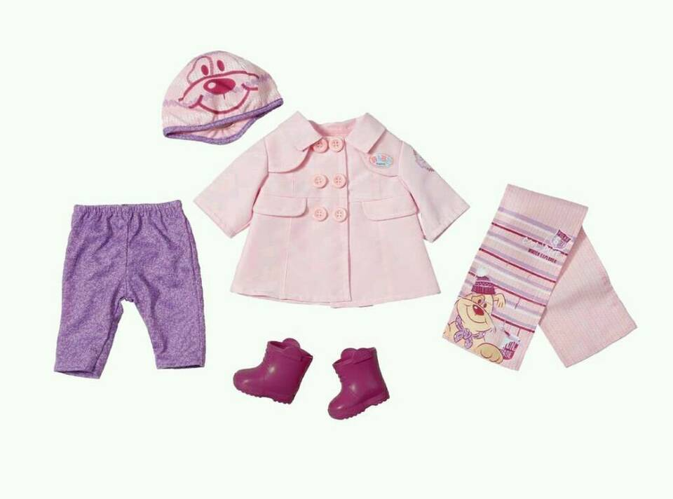 Baby Born Kleidung Set Sechsteilig Zapf Creation Neu In