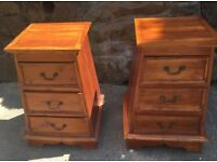 2 x Matching Wooden Draws