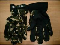 mens army style gloves