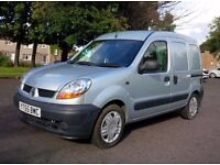 2005 Renault Kangoo 1.5 dci in Silver Full Service History Aircondition New MOT