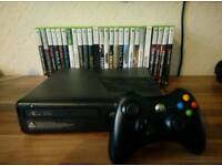Xbox 360 Slim 250GB with 26 Games